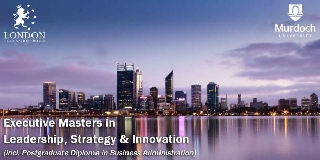 Murdoch University - Executive Master in Leadership, Strategy & Innovation (EMLSI) 行政碩士課程