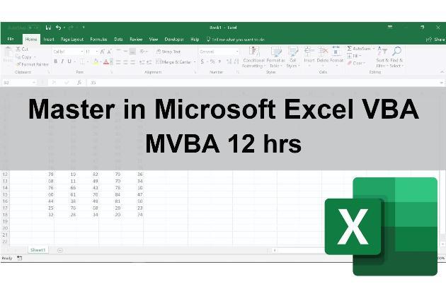 Master in Microsoft Excel VBA