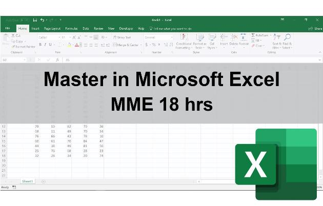 Master in Microsoft Excel