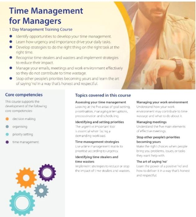 Leadership Directions: Time Management for Managers