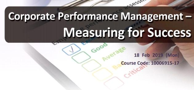 Corporate Performance Management – Measuring for Success