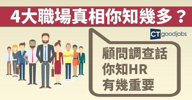 顧問調查揭4大職場真相  企業發展取決HR角色