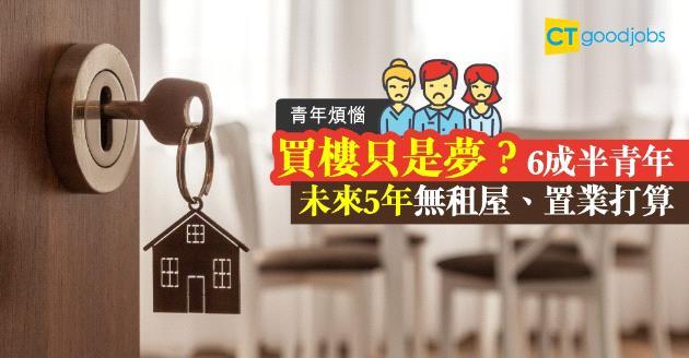 【青年煩惱】上車難 6成5青年無置業打算