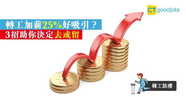 【轉工跳槽】轉工月薪升25% 你願唔願意?3個跳槽前要諗清楚的重點